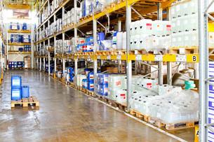 Chemical warehouseの写真素材 [FYI00646109]