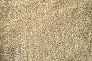 White rice grain background textureの写真素材 [FYI00646120]