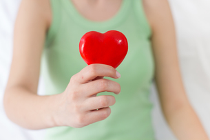 Red Heart Shape Health Love Supportの写真素材 [FYI00646297]