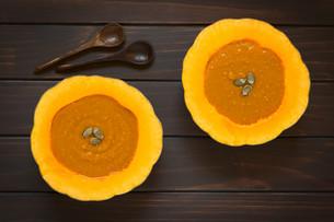 Cream of Pumpkin Soupの写真素材 [FYI00646391]