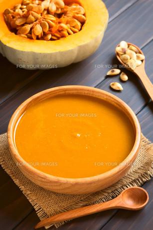 Cream of Pumpkin Soupの写真素材 [FYI00646395]
