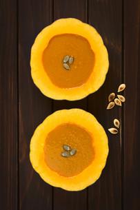 Cream of Pumpkin Soupの写真素材 [FYI00646396]