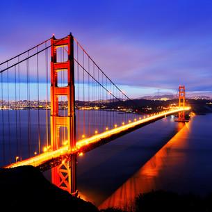 Golden Gate Bridge, San Franciscoの写真素材 [FYI00646611]