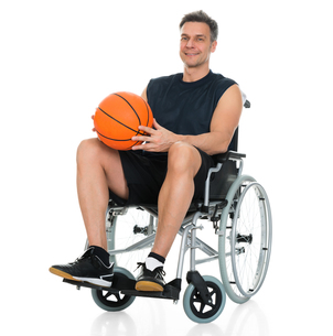 Disabled Player On Wheelchairの写真素材 [FYI00646704]