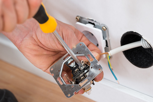 Technician Fixing Socketの写真素材 [FYI00646738]
