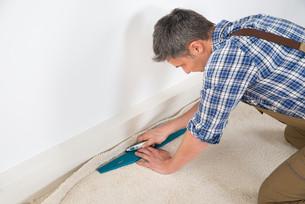 Craftsman Fitting Carpetの写真素材 [FYI00646770]