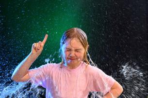 quick showerの写真素材 [FYI00647184]