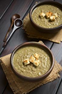 Cream of Lentil Soupの写真素材 [FYI00647219]