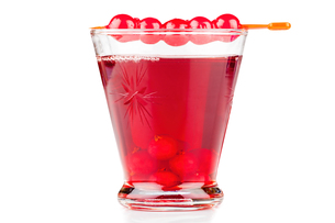 Glass currant liqueurの写真素材 [FYI00647496]
