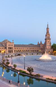 espana Plaza Seville Spainの写真素材 [FYI00647548]