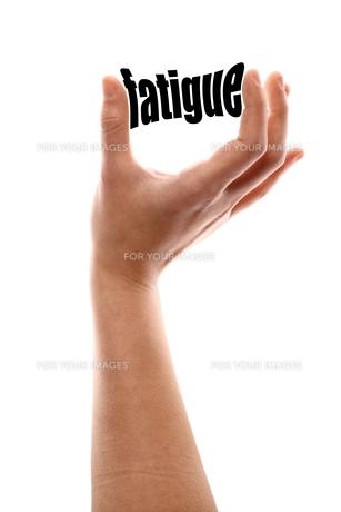 Smaller fatigueの写真素材 [FYI00647633]