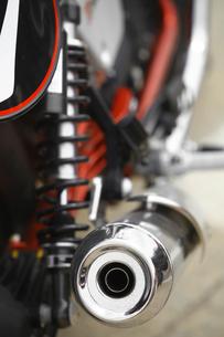 Motorcycle exhaustの写真素材 [FYI00647634]