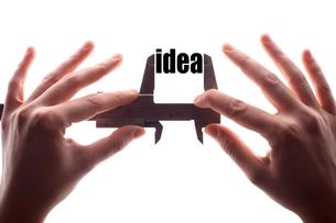 Small ideaの写真素材 [FYI00647638]