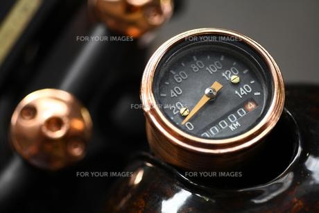 Motorcycle speedometerの素材 [FYI00647639]