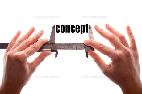 Small conceptの写真素材 [FYI00647644]