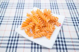 Fusilli prepare for pasta cuisineの写真素材 [FYI00647761]