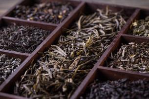 Dry tea leavesの写真素材 [FYI00648009]
