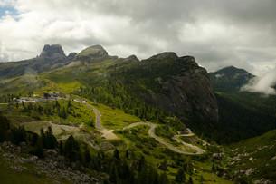 Mountains passの写真素材 [FYI00648018]
