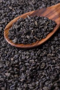 Dry green teaの写真素材 [FYI00648021]