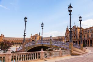 Seville Spain Squareの写真素材 [FYI00648175]