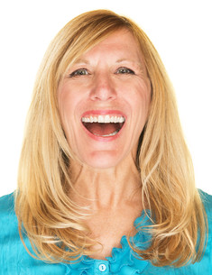 Laughing Female Adultの写真素材 [FYI00648409]