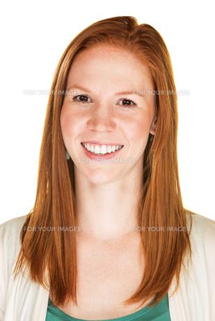 Woman Laughingの写真素材 [FYI00648443]