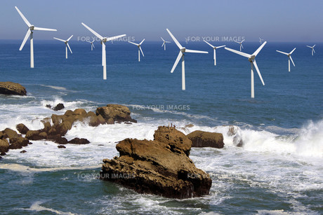 offshore windの写真素材 [FYI00648509]