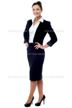 How is my new dress code !の写真素材 [FYI00648527]