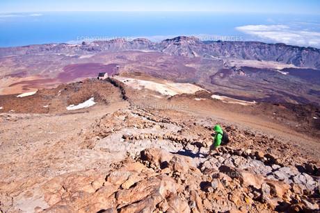 Hiking - Male hikerの写真素材 [FYI00648616]