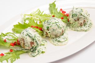meatballs in sauceの写真素材 [FYI00648639]