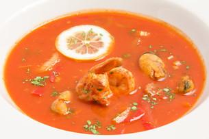 fresh tomato soupの写真素材 [FYI00648640]
