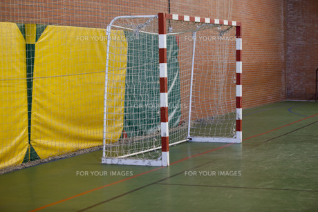 Five-a-side football goalの写真素材 [FYI00648710]