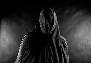 Ghost in the darkの写真素材 [FYI00648883]