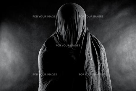 Ghost in the darkの素材 [FYI00648884]