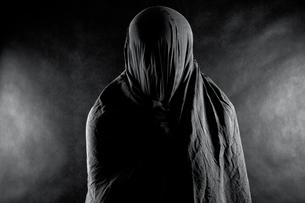 Ghost in the darkの写真素材 [FYI00648884]