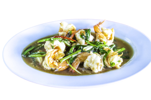 Fried shrimpsの写真素材 [FYI00648901]