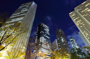 Business district in Tokyoの写真素材 [FYI00649396]