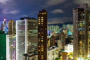 Beautiful HongKong cityscapeの写真素材 [FYI00649412]