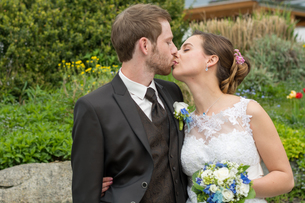 kiss a married coupleの写真素材 [FYI00649621]