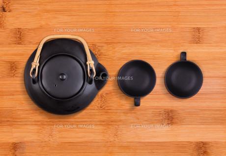 Chinese tea setの写真素材 [FYI00649656]