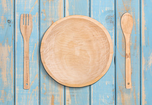Wooden plateの素材 [FYI00649661]