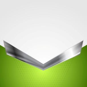 Abstract corporate background with metallic arrowの写真素材 [FYI00649852]