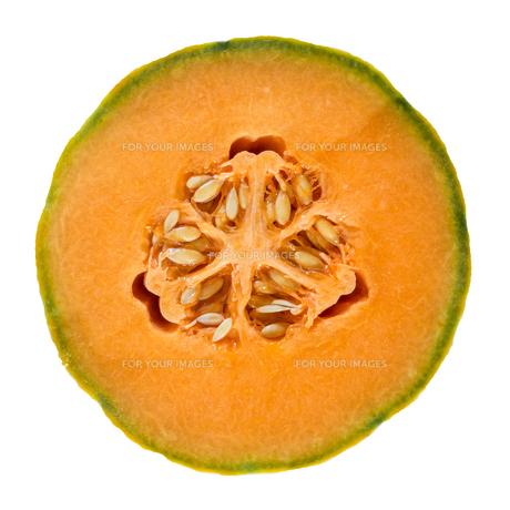 Half melonの写真素材 [FYI00649861]