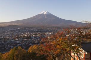 Mt.Fuji in autumn, Japanの写真素材 [FYI00650129]