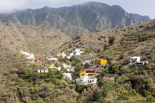 village on the island of la gomera,spainの写真素材 [FYI00650334]