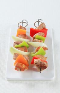 Shish kebabsの写真素材 [FYI00650696]