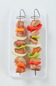 Shish kebabsの写真素材 [FYI00650698]