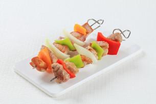 Shish kebabsの写真素材 [FYI00650699]
