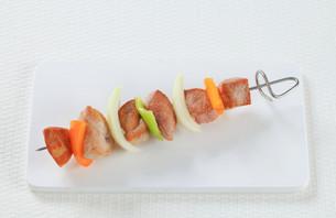 Shish kebabの写真素材 [FYI00650702]
