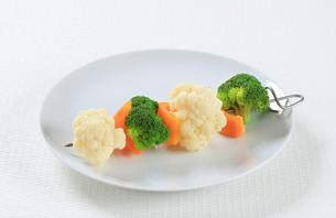 Vegetable skewerの写真素材 [FYI00650713]
